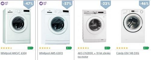 Levné pračky a jiné elektro ve slevě