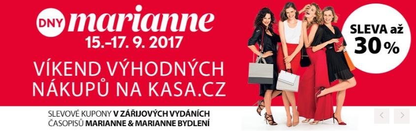 Slevy Marianne na Kasa.cz
