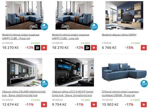 Nejlepší ceny nábytku