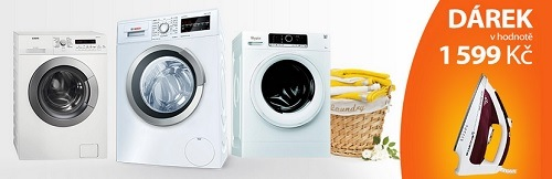 žehlička zdarma k pračce