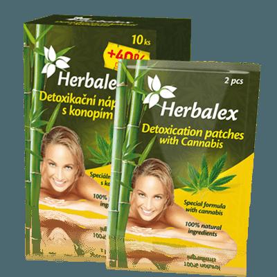 Náplasti na detoxikaci s konopím