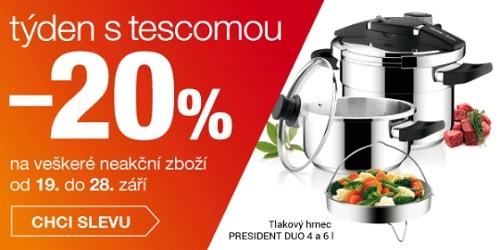 Týden s Tescomou - sleva 20%