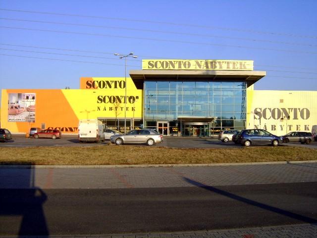 Prodejna nábytku Sconto