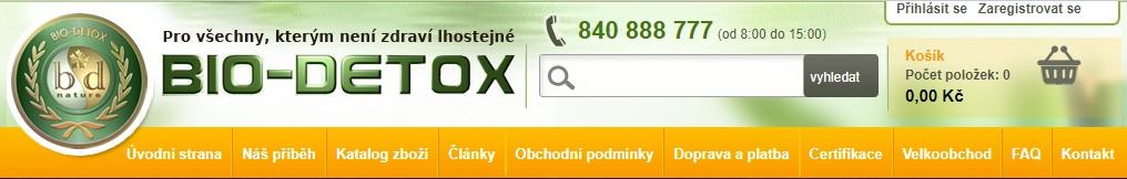 Biodetox e-shop